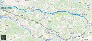ceļš no Rīgas puses